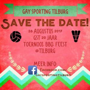 20 jaar Gay Sporting Tilburg Toernooi @ Tilburg   Tilburg   Noord-Brabant   Nederland