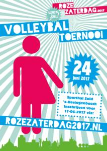 Roze Volleybal Toernooi voor jou! @ 's-Hertogenbosch   's-Hertogenbosch   Noord-Brabant   Nederland