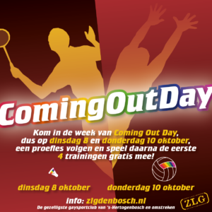 Coming Out Day Volleybal