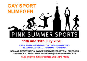 Pink Summer Sports @ Nijmegen