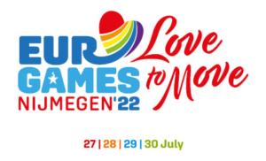 EuroGames 2022 Nijmegen